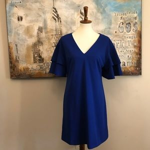 Vince Camuto NWOT Ruffle Sleeve Dress Size 8
